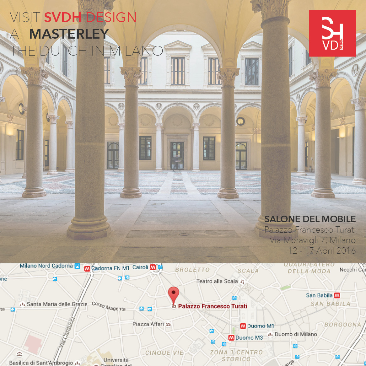 masterley the dutch in milano - salone del mobile svdh design