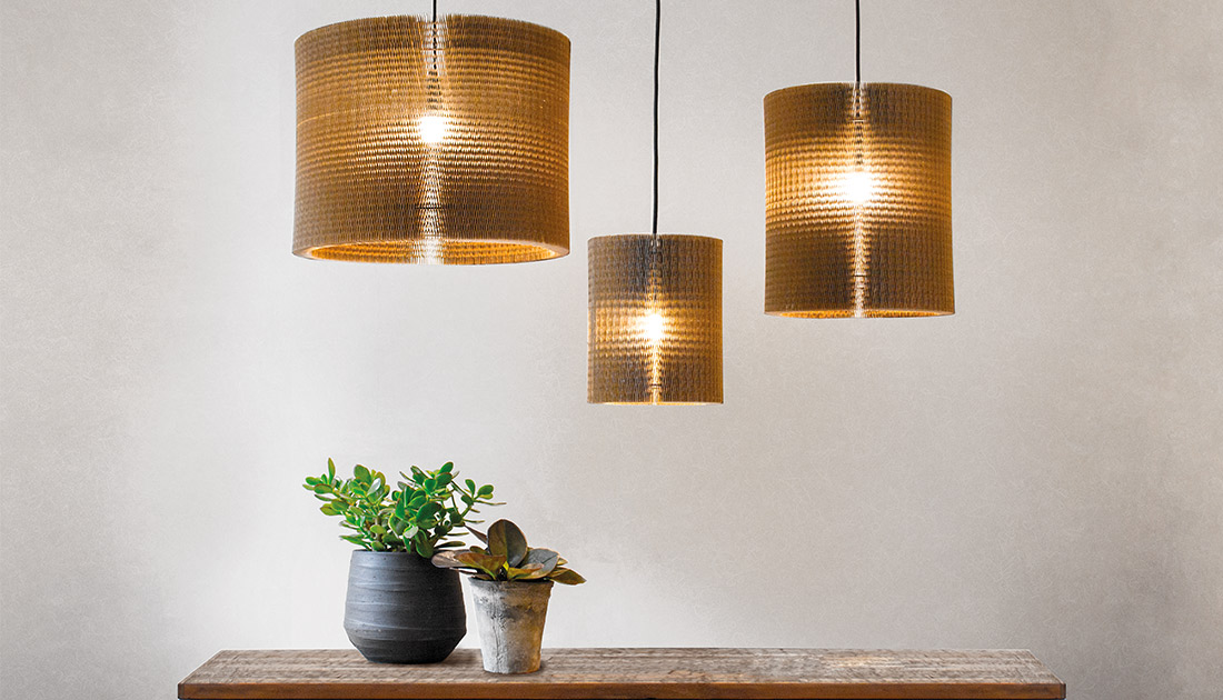 Honeycombb hang lamp